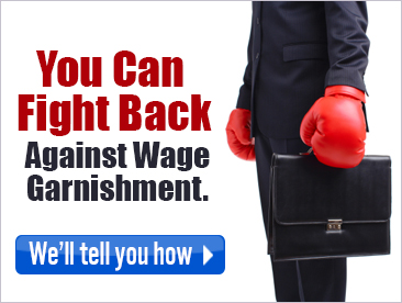 fight wage garnishment